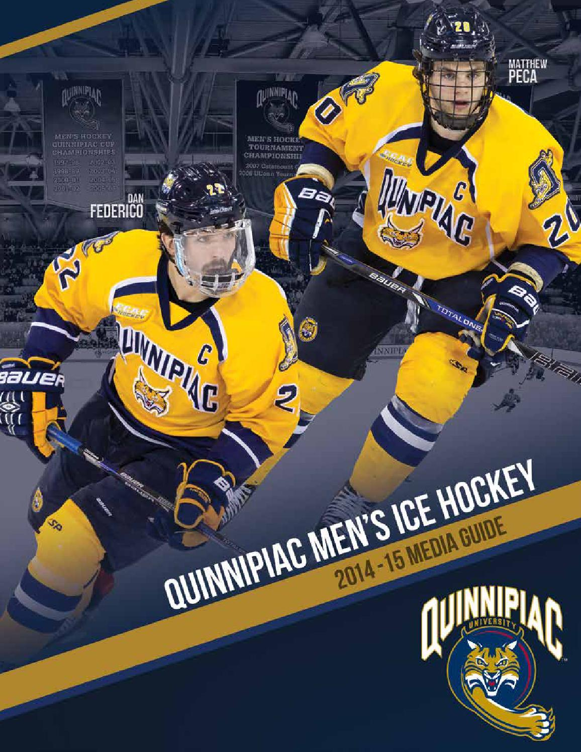 ISSUU - 2014-15 Quinnipiac Men's Ice Hockey Media Guide ...