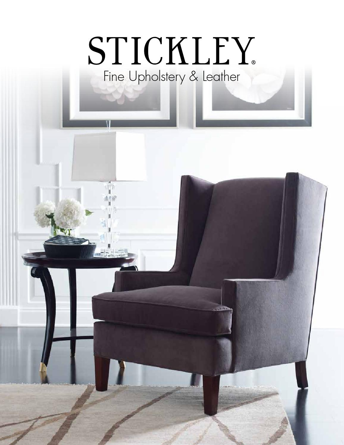 Issuu Fine Upholstery Amp Leather Catalog By Stickley By