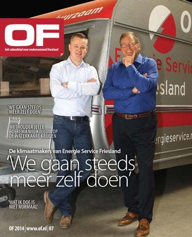 OF | Hét zakelijk magazine voor Ondernemend Friesland | editie 7 | oktober | 2014