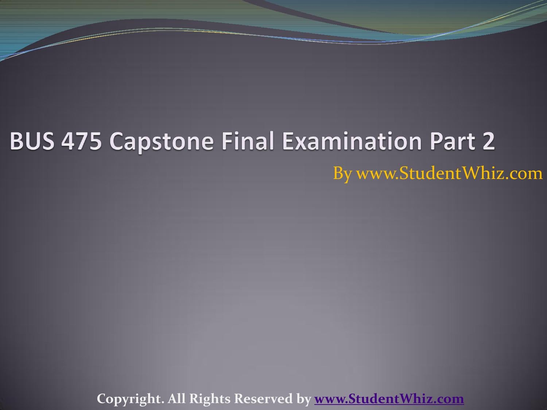 bus 475 final exam 2