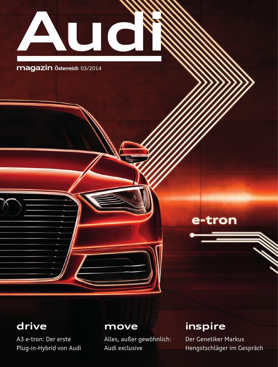 Issuu Audi Magazin 03 2014 By Agentur Loop New Media Gmbh