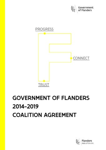 Government of Flanders 2014-2019 coalition agreement