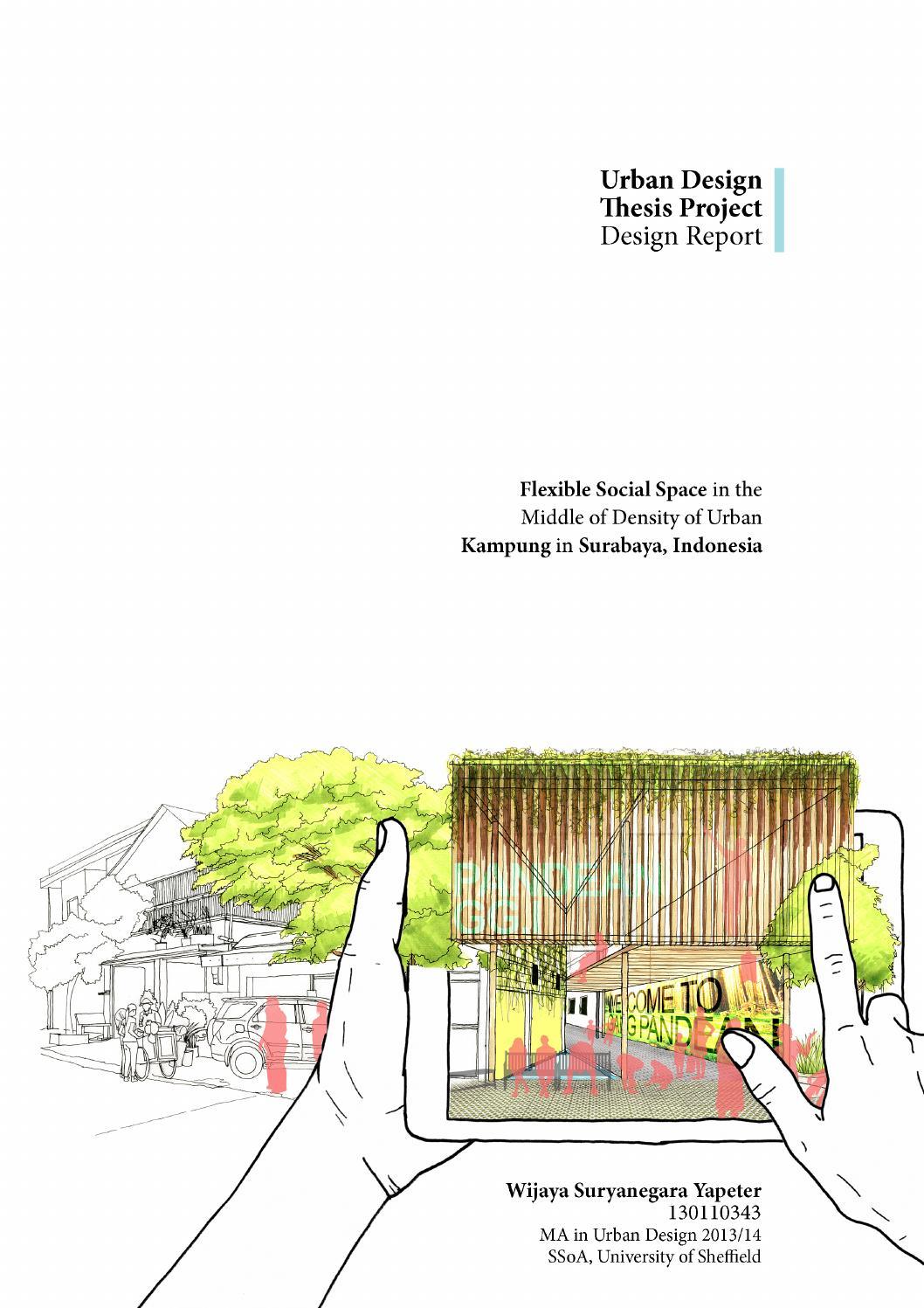 landscape thesis