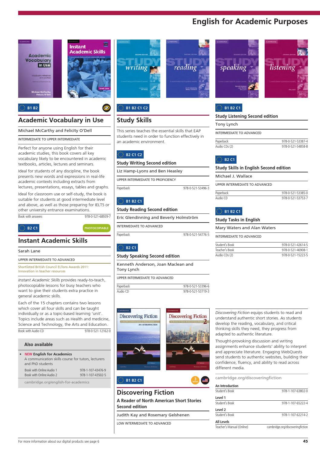 english for academic purposes essay topics