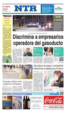 Portada del El Diario NTR | Martes 21 de Octubre del 2014