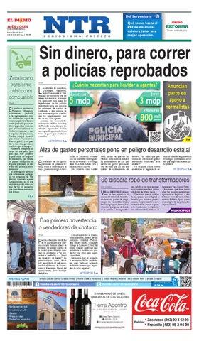 Portada del El Diario NTR | Miercoles 22 de Octubre del 2014
