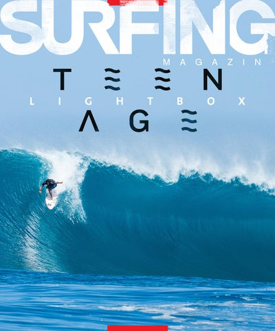 SURFING Magazine, LightBOX No. 7, TEEN AGE cover