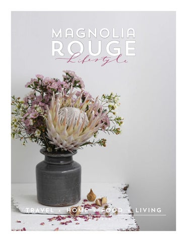 Magnolia Rouge Lifestyle - Issue 3 cover