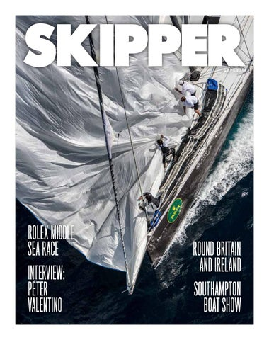 SKIPPER OCTOBER 2014 ISSUE 7 cover