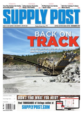 Supply Post Eastern Cover - October 2014