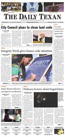 Issue for October 24, 2014