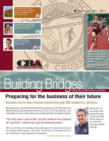 Building Bridges Fall 2014
