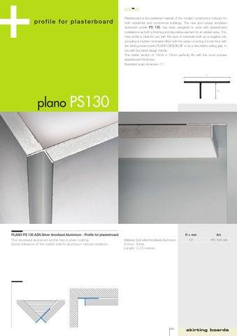 Profilitec Plano PS130