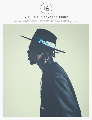 LA CANVAS - THE REVELRY ISSUE (NOVEMBER/DECEMBER 2014) cover