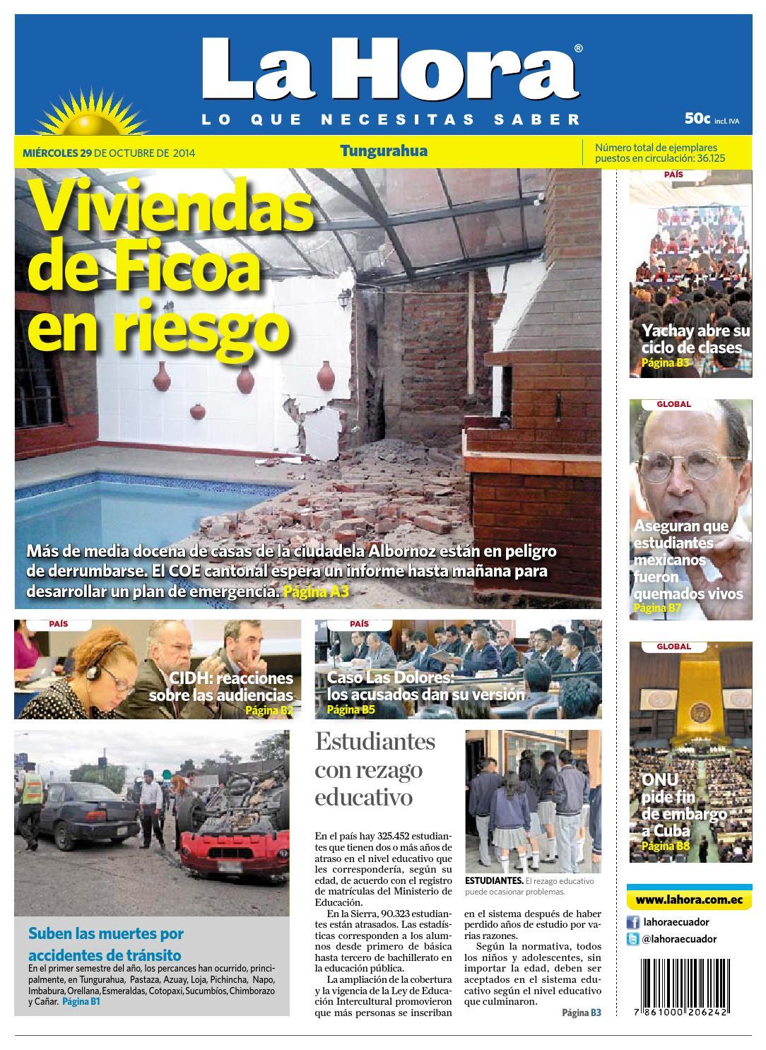 ISSUU - Ambato29octubre2014 by Diario La Hora Ecuador