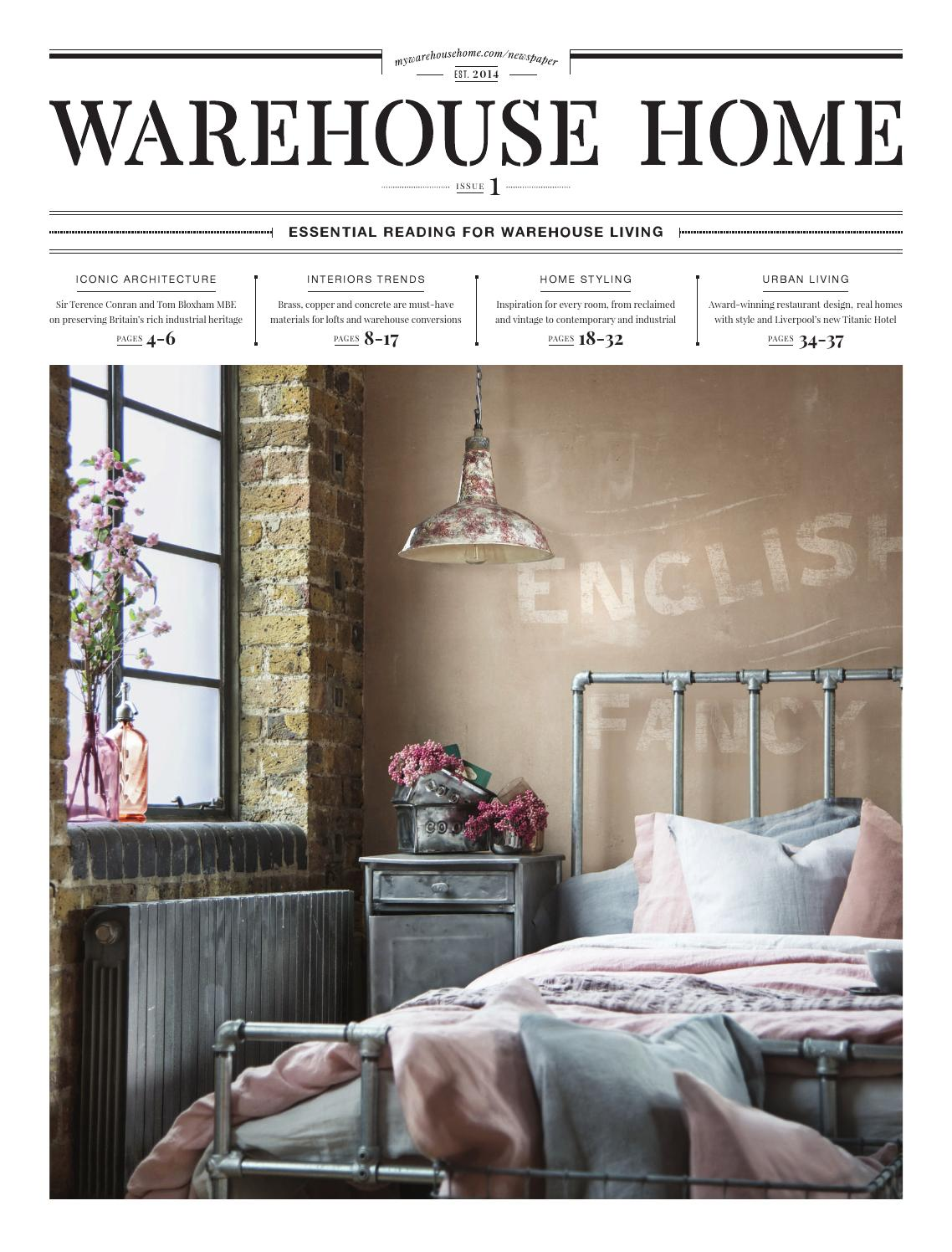 Issuu Warehouse Home Launch Issue By Warehouse Home
