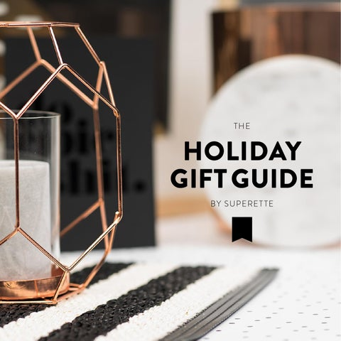 The Holiday Gift Guide by Superette cover