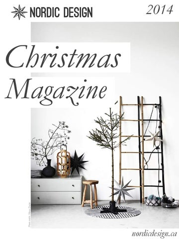 2014 Christmas magazine by Nordic Design cover