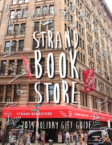 Strand Book Store's 2014 Holiday Gift Guide cover