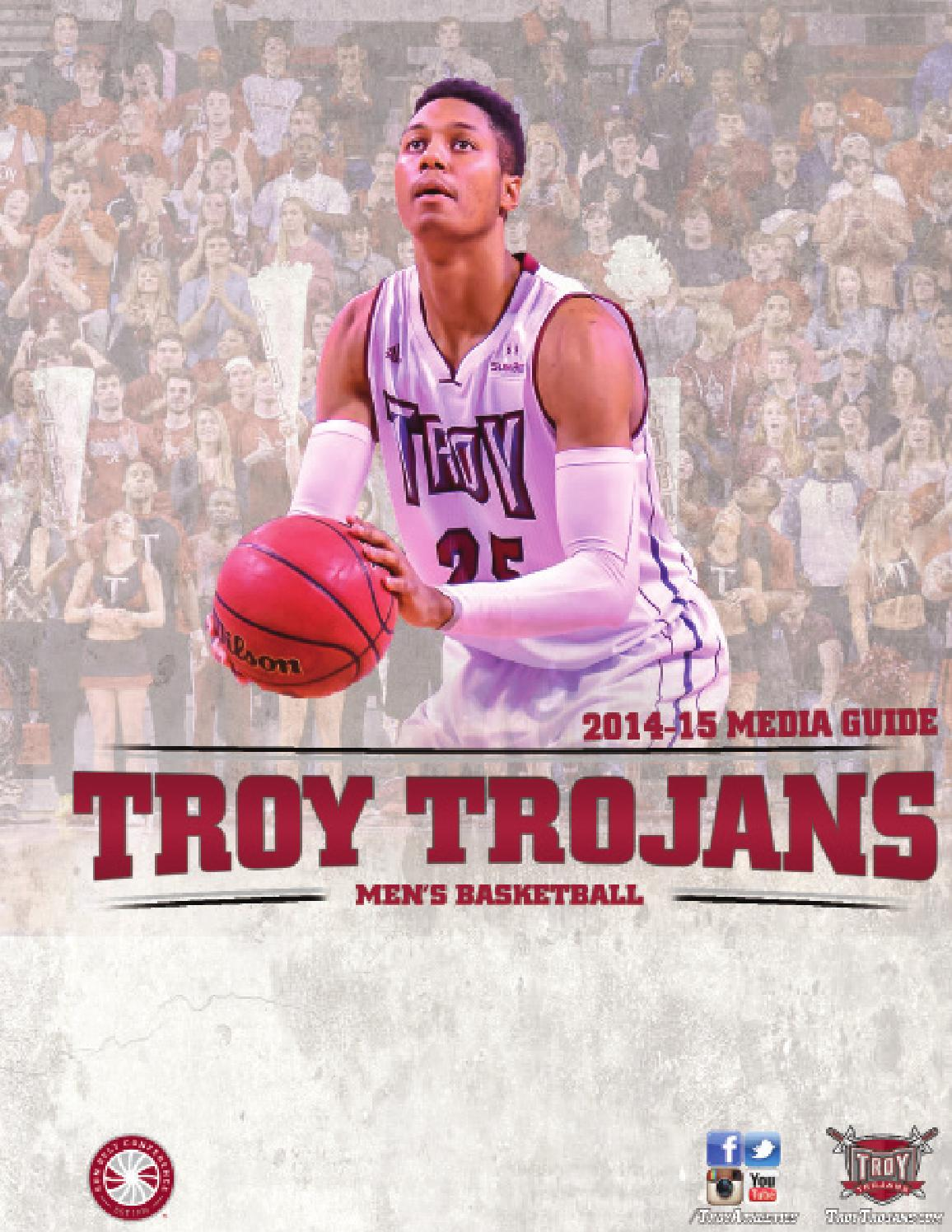 Troy Men's Basketball Media Guide (2014-15) by Troy ...