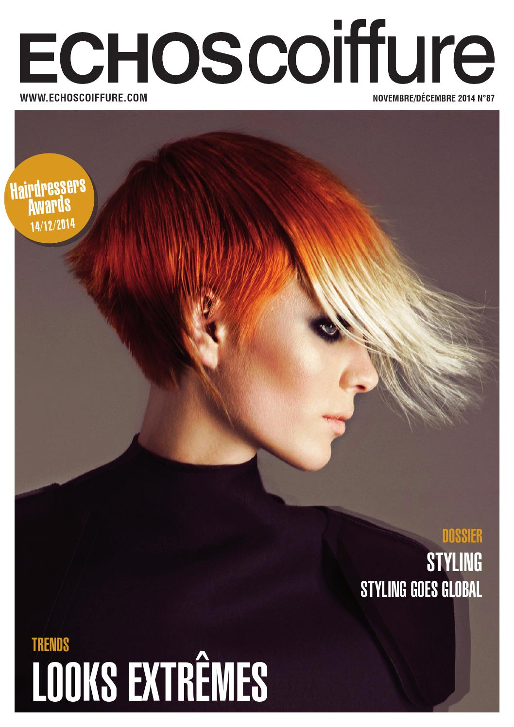 Issuu Echos Coiffure Be Fr N 176 87 By Eurobest Products