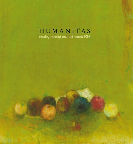Catalog HUMANITAS toamna iarna 2014