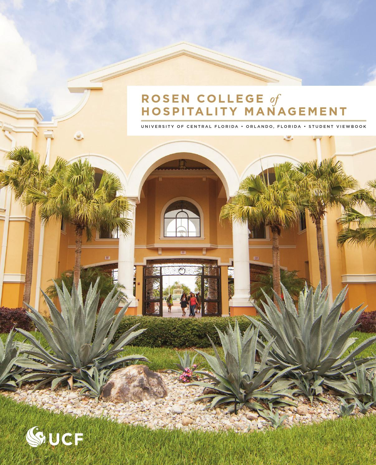Issuu 2014 Rosen College Of Hospitality Management Viewbook By University Of Central Florida