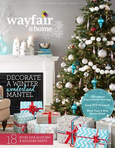 Wayfair @ Home Magazine Holidays 2014 Issue cover