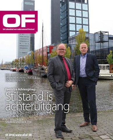 OF | Hét zakelijk magazine voor Ondernemend Friesland | editie 8 | november | 2014