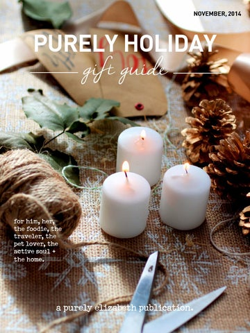Purely Holiday Gift Guide cover