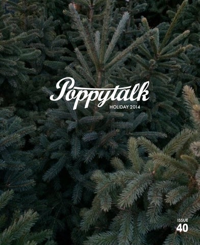 Poppytalk Holiday 2014 cover