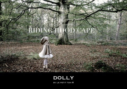Dolly's Reversible RIDING HOOD CAPE
