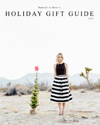 Damsel's 2014 Holiday Gift Guide cover