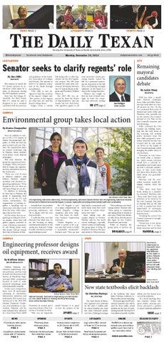 Issue for November 24, 2014