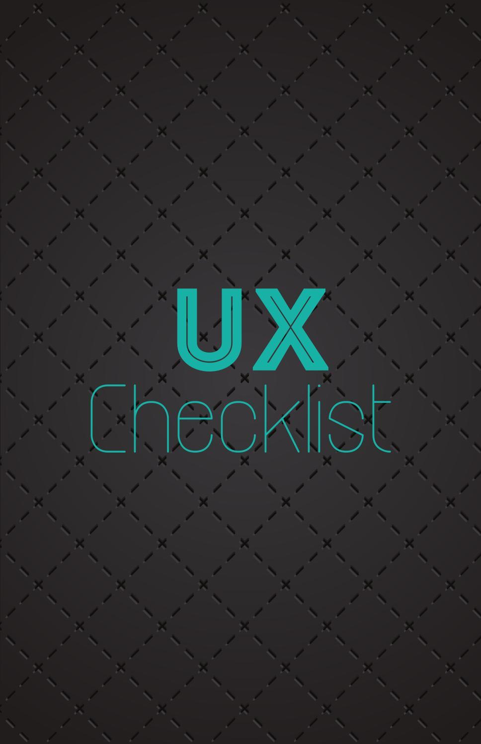 • UI •UX • UCD • HCD • - cover