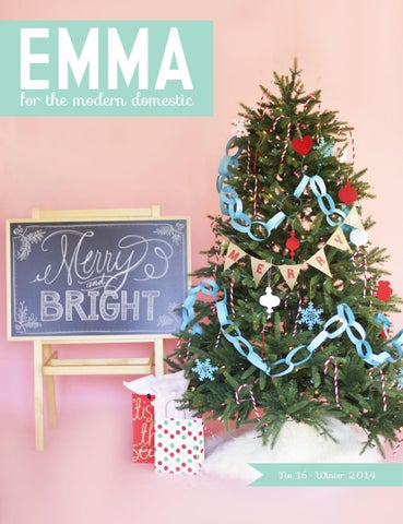 Emma Magazine - December 2014 cover