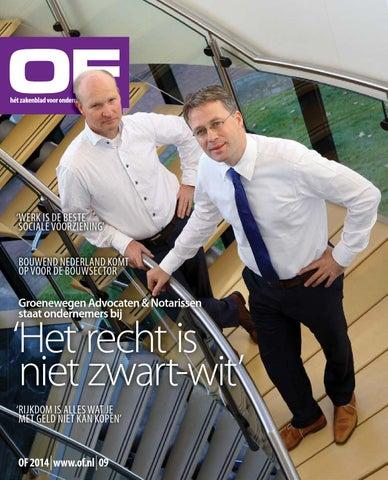 OF   Hét zakelijk magazine voor Ondernemend Friesland   editie 9   december   2014
