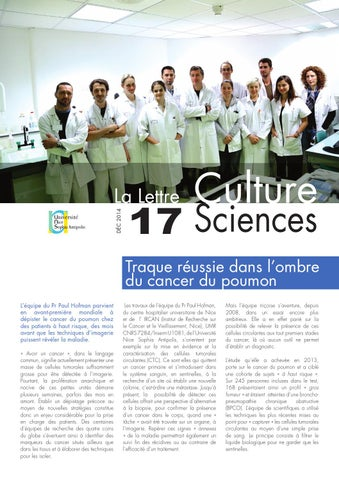 La lettre Culture Science n°17