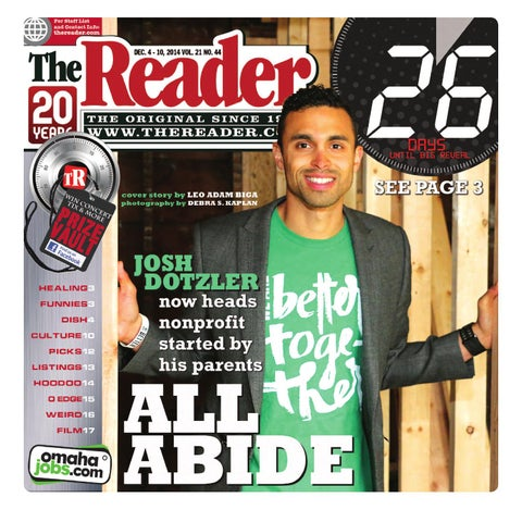 The Reader Dec. 4 - 10, 2014