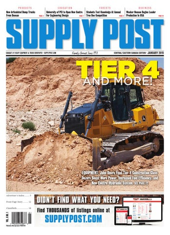Supply Post Eastern Cover - January 2015