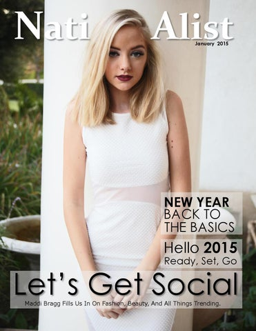 Nationalist Magazine January 2015 cover