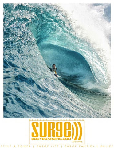 SURGEBODYBOARDING.COM VERSION 9.0 cover