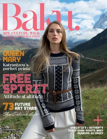 Baku issue 14 winter 2014 cover