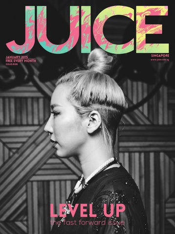 JUICE January 2015 - Tokimonsta | Issue #196 cover