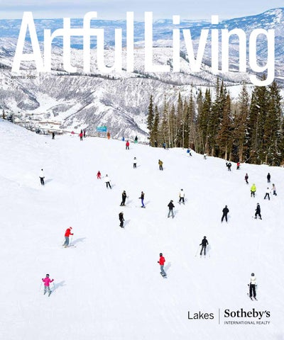 Artful Living | Winter 2015 cover