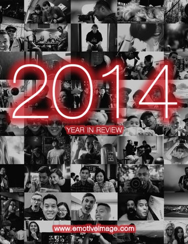 Emotive Image 2014 Year in Review cover