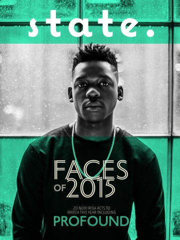 State faces of 2015 cover