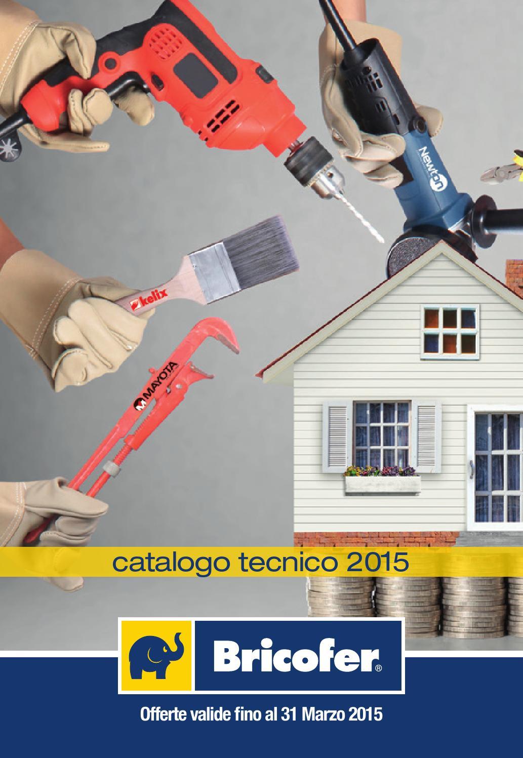 Issuu catalogo tecnico by bricofer italia spa for Bricofer catalogo