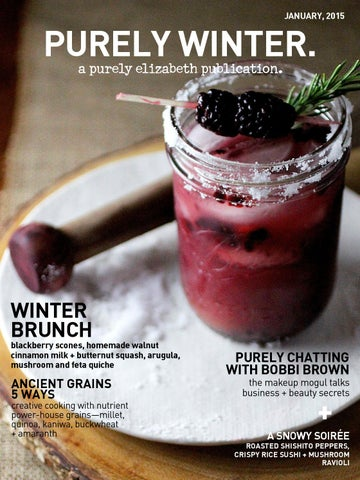Purely Winter Magazine | 2015 cover