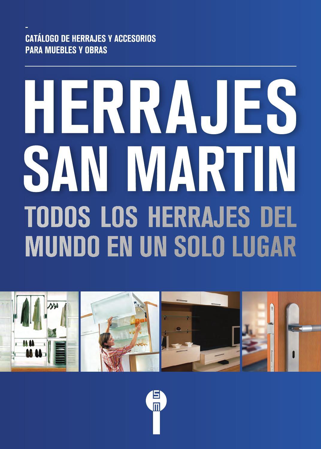Cat logo de herrajes san mart n 2015 by herrajes san mart n issuu - Muebles martin catalogo ...